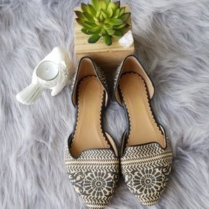 Restricted patterned flats